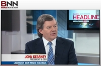 John Kearney on BNN's Headline
